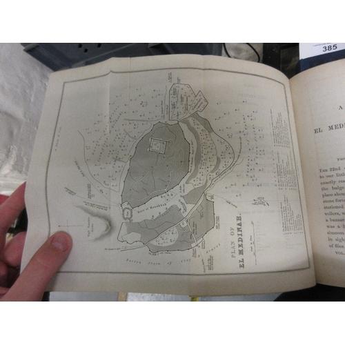 385 - Richard F. Burton, three volumes ' A Personal Narrative of a Pilgrimage to El-Medinah, Meccah ', Fir...