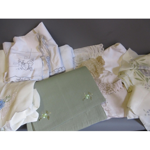 48 - Small quantity of various table linen...