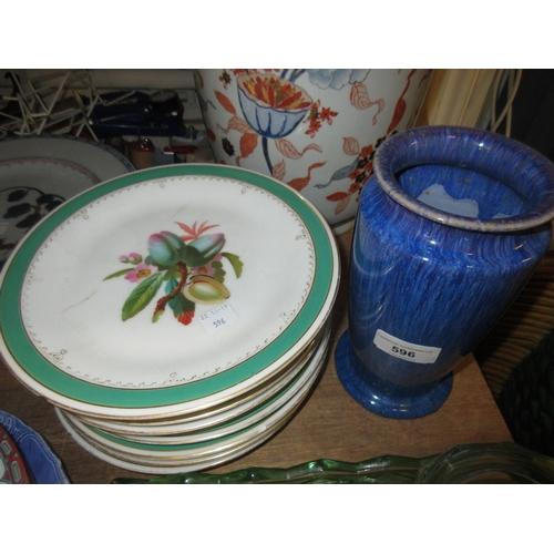 596 - Eleven various small Copenhagen porcelain figures of birds and animals