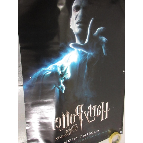143 - ' Harry Potter and the Philosopher's Stone ' original film poster and another ' Order of the Phoenix...