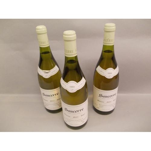 1683 - Eleven bottles, Sancerre 1994 white wine and another single bottle of Sancerre, 1997