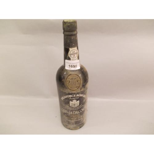 1698 - One bottle of Delaforce vintage port 1980...