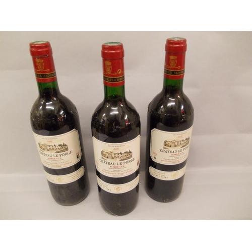 1700 - Twelve bottles Chateau la Forge 2000
