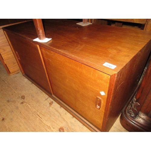 2283 - Ladderax three drawer chest and a similar cupboard...