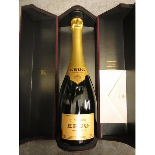 1657 - Two bottles Bollinger Champagne, together with one bottle Krug Champagne