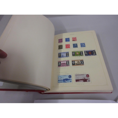 105 - Stamp album containing a collection of Great Britain Regional mint and used stamps...