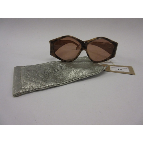 18 - Pair of Christian Dior sunglasses...