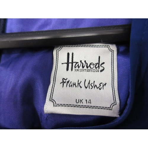32 - Quantity of various Frank Usher ladies clothing including a sequinned jacket...