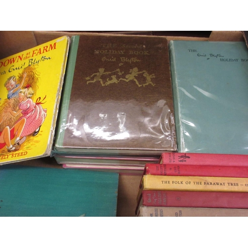 344 - Collection of sixteen various Enid Blyton story books...
