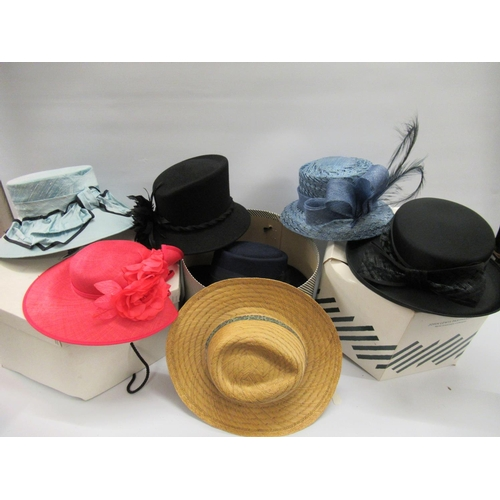 36 - Quantity of various ladies hats, in cartons...