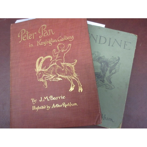 389 - One volume, ' Peter Pan in Kensington Gardens ' by J.M. Barrie, illustrated by Arthur Rackham with c...