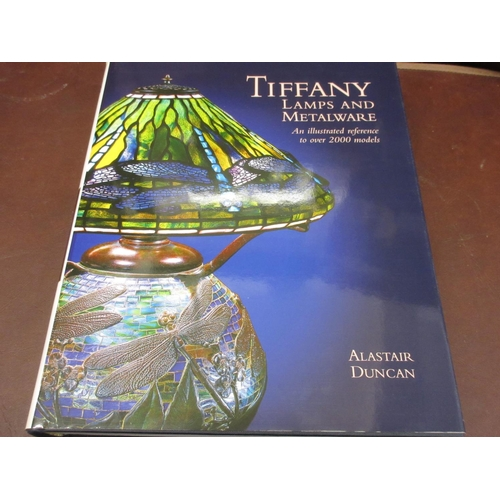 397 - Alastair Duncan, ' Tiffany lamps and Metalware ', an illustrated reference published by the Antique ...