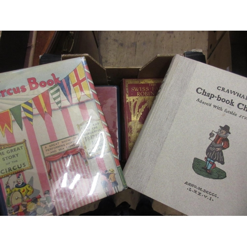 404 - Six illustrated volumes ' Hans Anderson's Fairy Tales ', ' The Circus Book ', ' Crawhalls Chap-Book ...