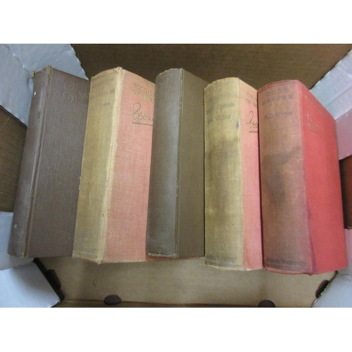 406 - Five volumes by P.C. Wren with his book plates signed and given to Lieutenant Stuart Cook...