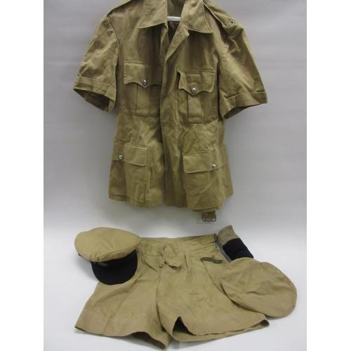 41 - Aden original police uniform with hat, socks etc....