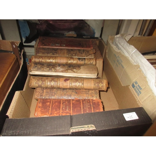 428 - Four volumes ' Picturesque Europe ', four volumes ' Works of Shakespeare ' and other miscellaneous b...