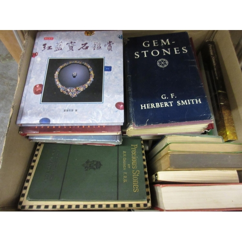 429 - Large quantity of geology and gemology related books...