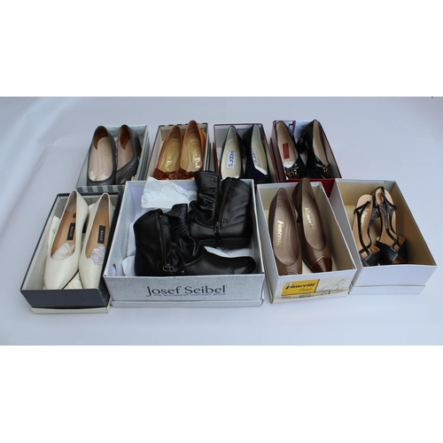 23 - Four pairs of ladies Van-Dal shoes, size 5 / 5 1/2, together with three other pairs of ladies shoes,...