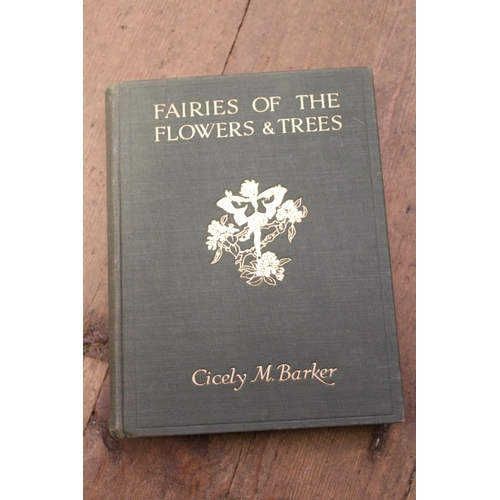 339 - Two volumes Cicely M. Barker ' The Book of the Flower Fairies ' with ' Fairies of the Flowers and Tr...