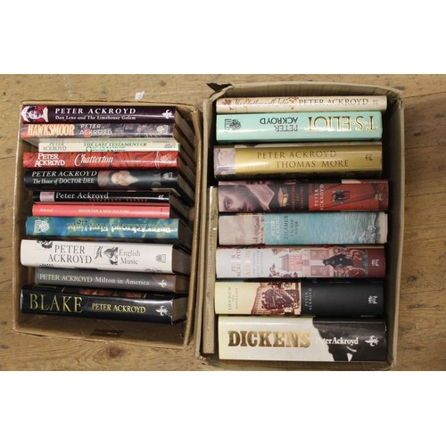 319 - Quantity of various Peter Ackroyd First Edition volumes...