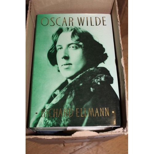 301 - Seven volumes, letters of T.S. Eliot, biography of Oscar Wilde etc...