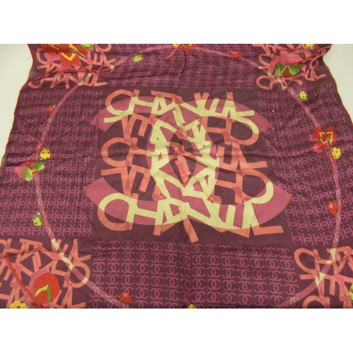 39 - Quantity of various ladies scarves including Chanel, Ralph Lauren, Christian Dior and American adver...