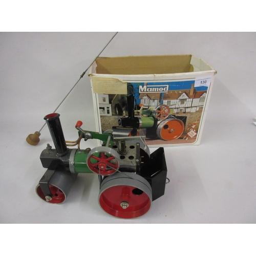 130 - Mamod live steam model traction engine...