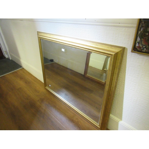 2102 - Large rectangular gilt framed wall mirror...