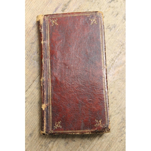 393 - Miniature early 18th Century Greek book by Johanne Leusden, printed by Sumptibus Societatis, 1716, l...