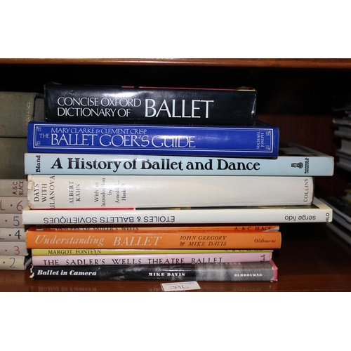 396 - Large quantity of various ballet related books...