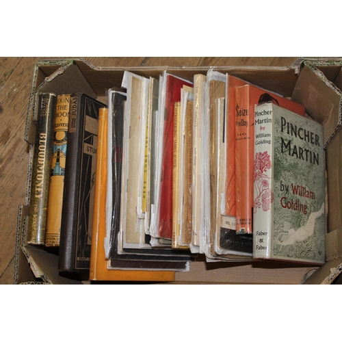 403 - Approximately thirty two volumes and pamphlets of 1930's and 1940's poets and novelists including Sy...