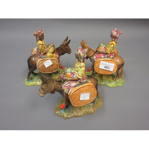 485 - Three Beswick figures ' Susie Jamaica '