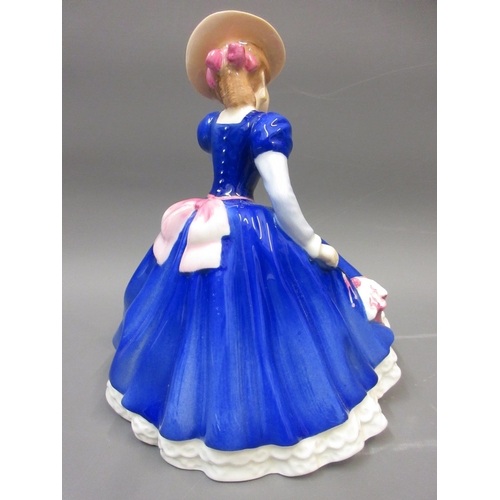 592 - Royal Doulton porcelain figure of the year, ' Mary ' HN3375