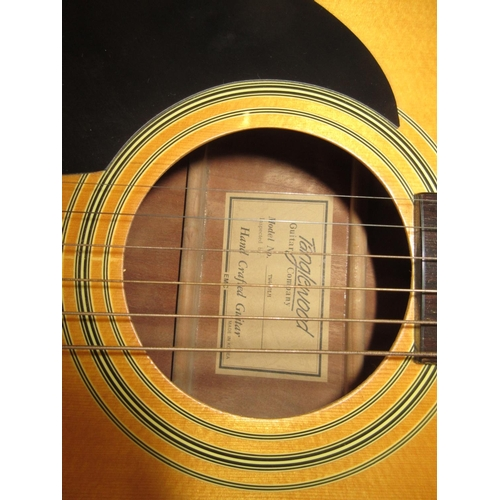 97 - Modern steel strung acoustic guitar by Tanglewood...