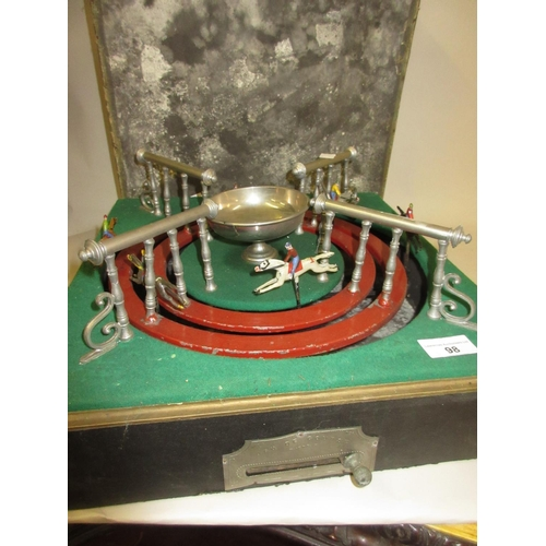 98 - Early 20th Century circular Escalado game in original carton (carton at fault)...