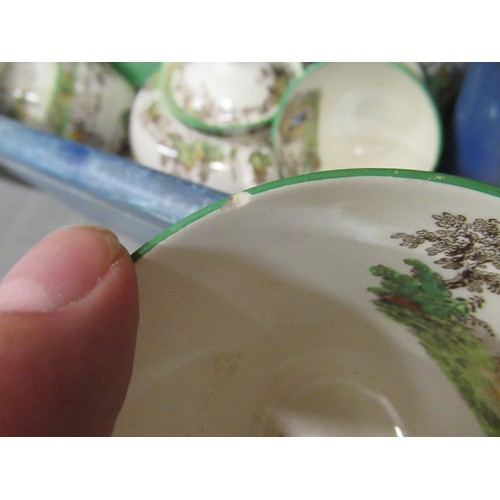 432 - Extensive Copeland Spode ' Byron ' pattern dinner and tea service, together with a Copeland and Garr...