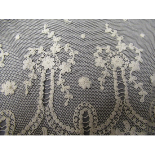 25 - Collection of mainly Edwardian clothing including: lace edge, crochet edge and embroidered...