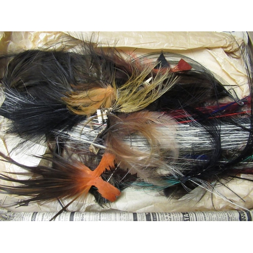 50 - Large quantity of various birds feathers...