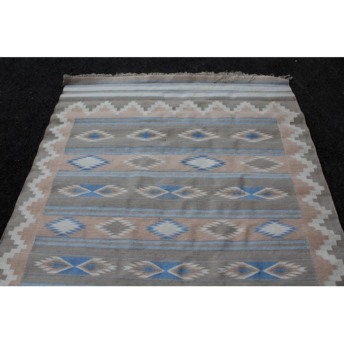 10 - Modern Kelim rug, 96ins x 65ins approximately