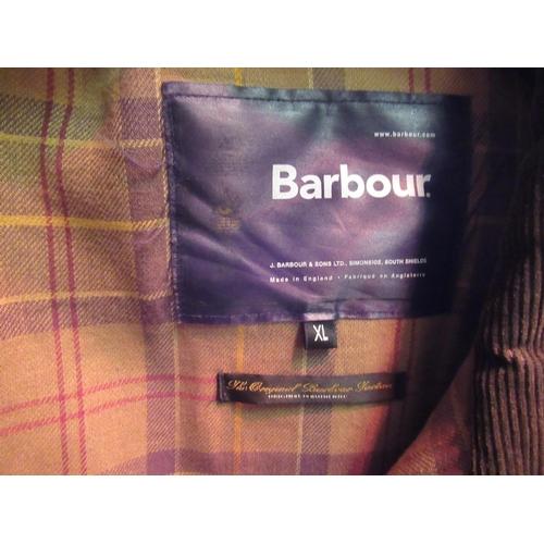 36 - Barber wax 'Flyer' jacket, extra large