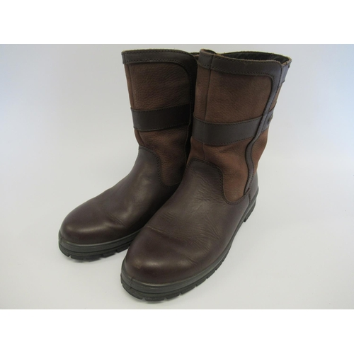 11 - Pair of gentleman's Dubarry Roscommon country boots, size 8