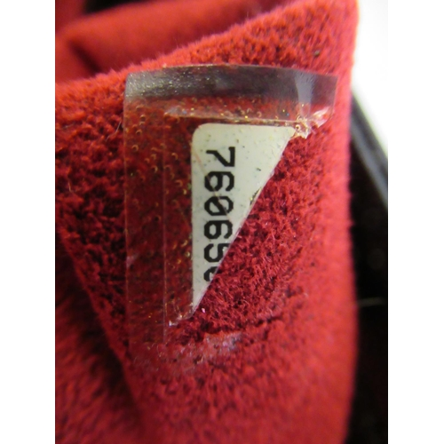 40 - Chanel black patent leather Choco Bar CC tote bag, measures 21cm x 24cm x 8cm