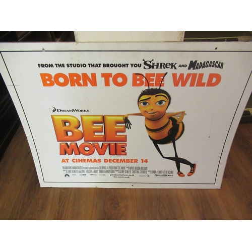 57 - Group of four card film posters, ' Click ', ' Bee Movie ', ' Salt ' and ' Fools Gold ' (two signed)