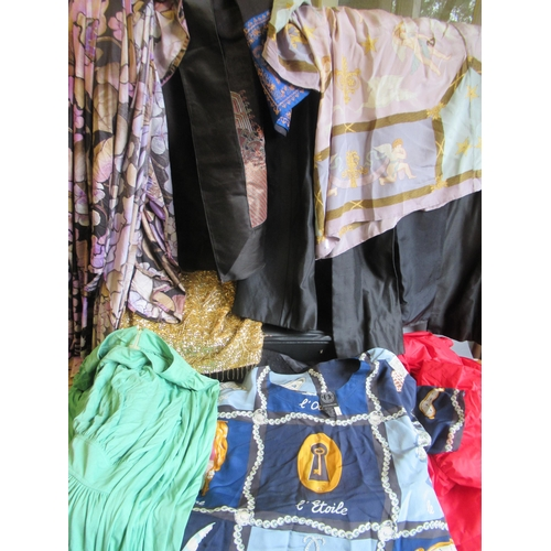 45A - Quantity of 1960's and other clothing including tops by English Eccentrics and a Chinese machine emb...