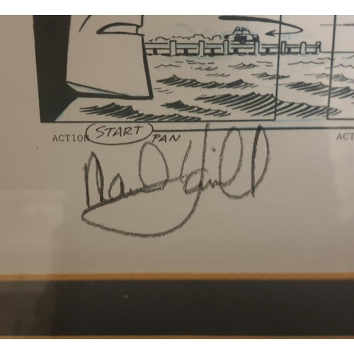 10 - Batman and The Joker Storyboard Lithograph Signed by Mark Hamill (Voice of The Joker). Limited Editi...
