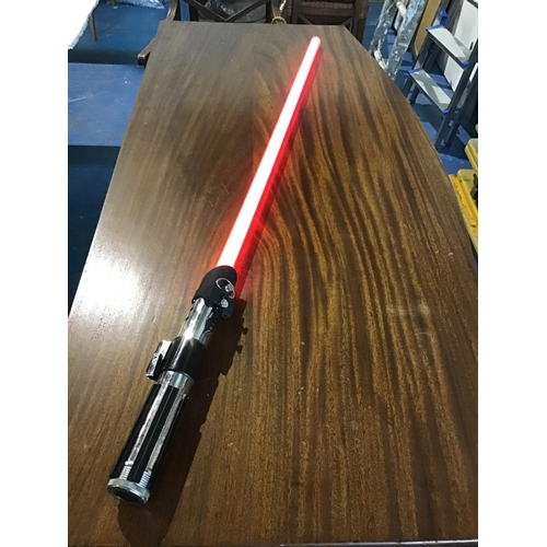 28 - Darth Vader Lightsabre. Full-size and Fully working Force FX Darth Vader Lightsabre made by Master R...