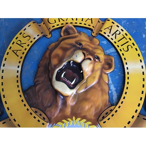 51 - MGM -  Metro Goldwyn Mayer  - 3d sign This fantastic large reproduction of the the famous MGM sign i...