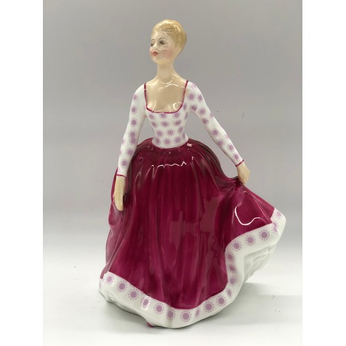 43 - A Royal Doulton figure; Fiona HN2694; 22cm high