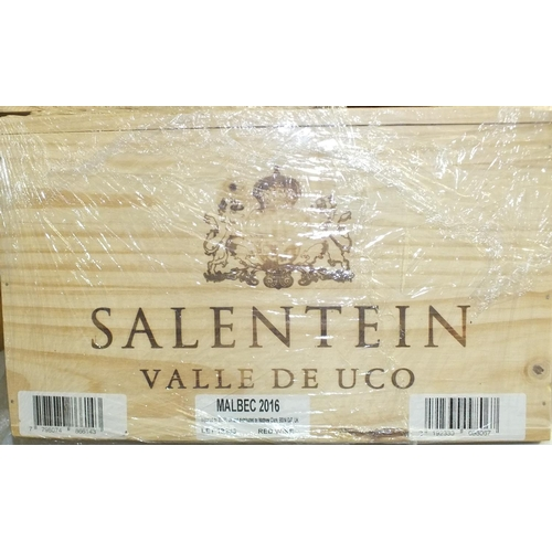 15 - Salentein Valle de Luco, Primus Malbec 2016, six bottles in original wooden crate, (6)....