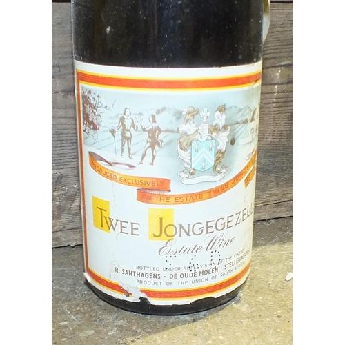 16 - Twee Jonge Gezellen Riesling, South Africa, R. Santhagens, Stellenbosch, thirteen bottles, (four cap...